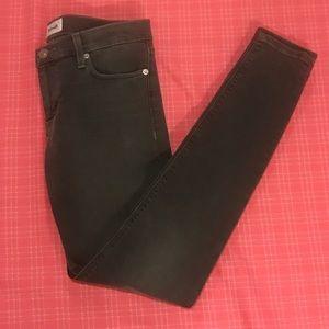 New Hudson Krista Skinny Jeans- grey sz 26